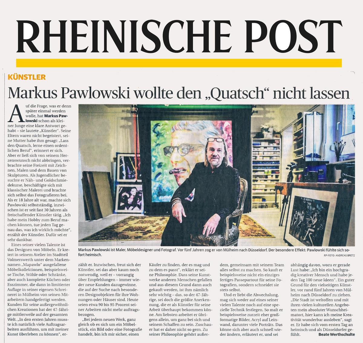 mapawlo Markus pawlowski presse