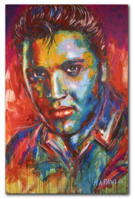 Elvis Presley Gemälde
